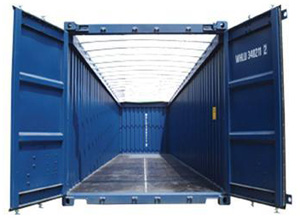 FL Open Top Shipping Containers Tampa FL Storage Cargo Containers