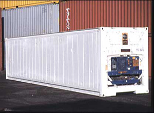 Miami 40ft Refrigerated shipping container